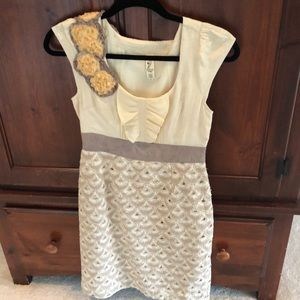 Stunning Anthropologie Dress Sz 2